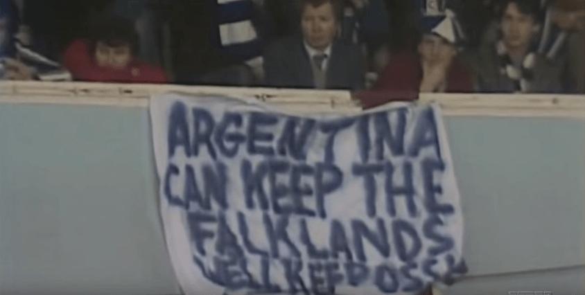 """""""A Argentina que fique com as Ilhas Malvinas. Nós ficaremos com Ossie"""" foi estendido no White Hart Lane"""