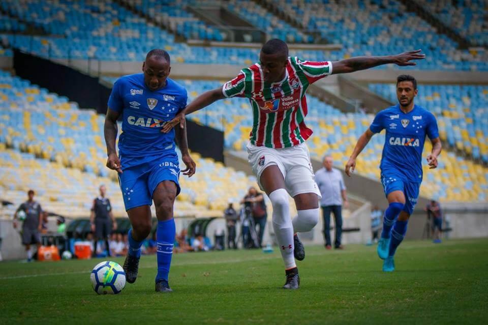 Cruzeiro mais uma vez foi um time pobre ofensivamente.