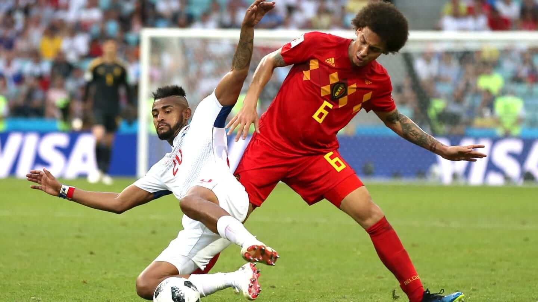 Witsel tem encontrado dificuldades para manter a intensidade sem a bola.