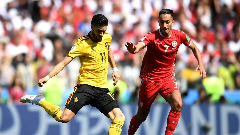 Ferreira Carrasco é outro ponto nevrálgico do sistema defensivo belga.