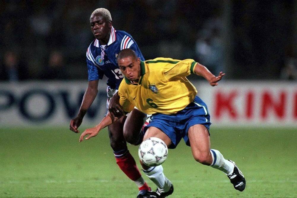 Ba foi titular durante o Torneio da França, em 1997 | Foto: Reuters