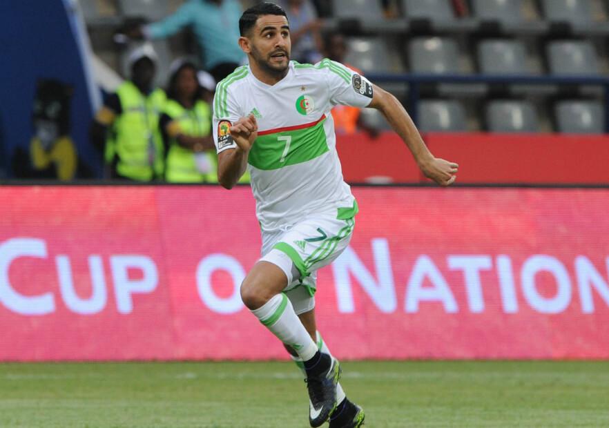 Ryad Mahrez é a referência técnica da Argélia na tentativa de surpreender na competição.