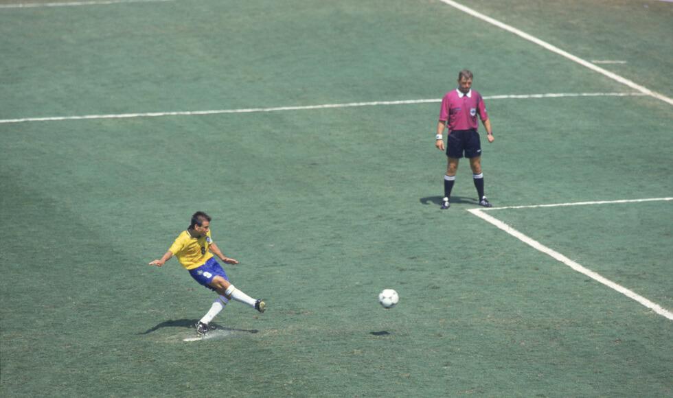 Dunga foi o craque da final de 1994