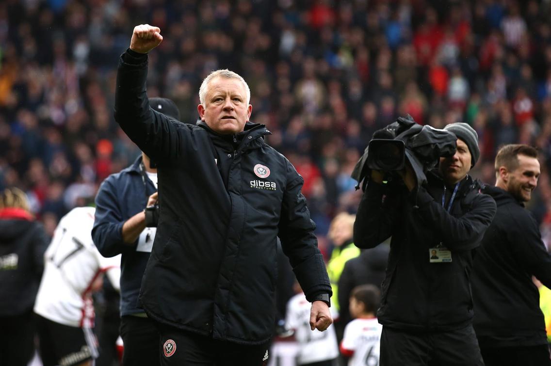 Chris Wilder faz o Sheffield sonhar na Premier League