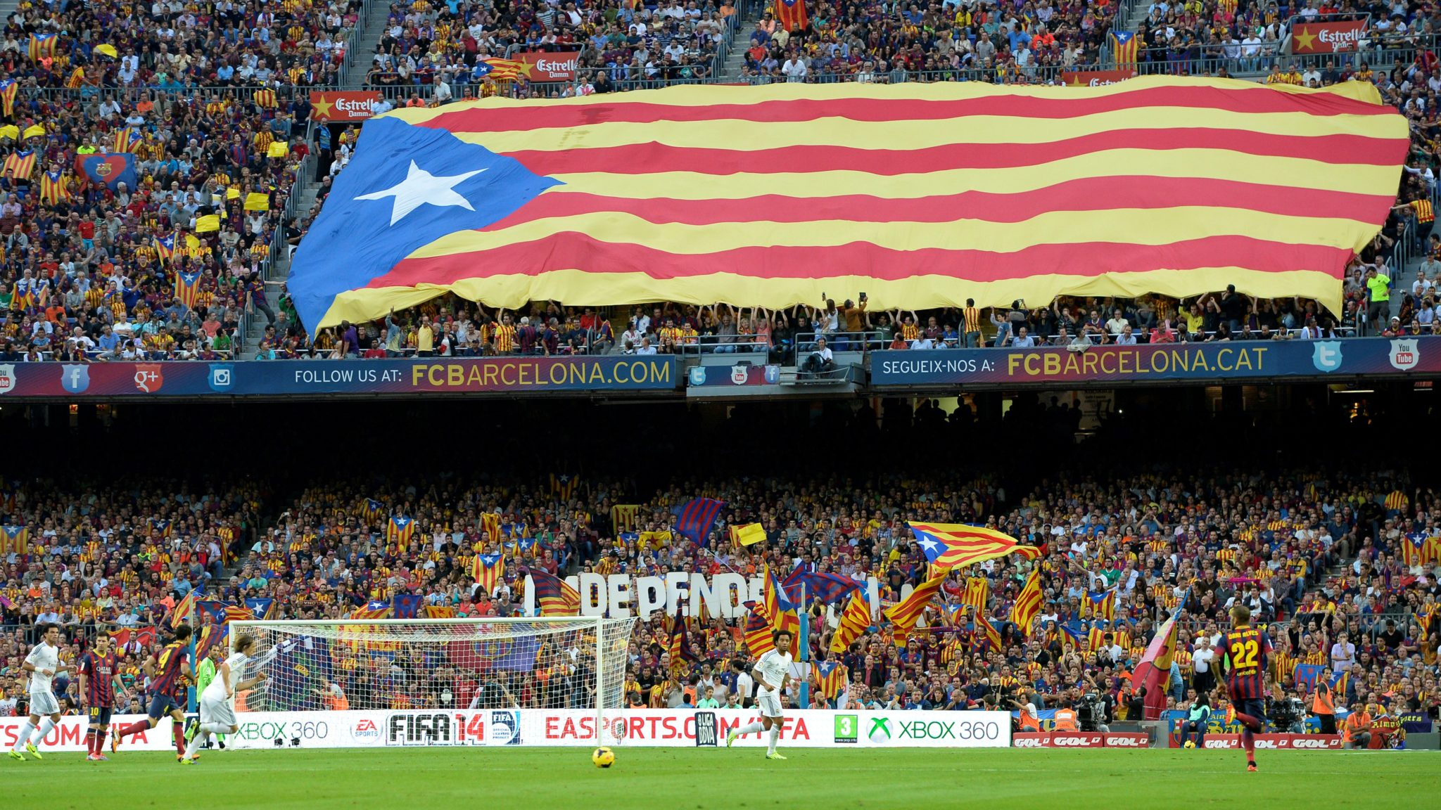 Barcelona, Catalunha, Independência: a mistura entre futebol e política