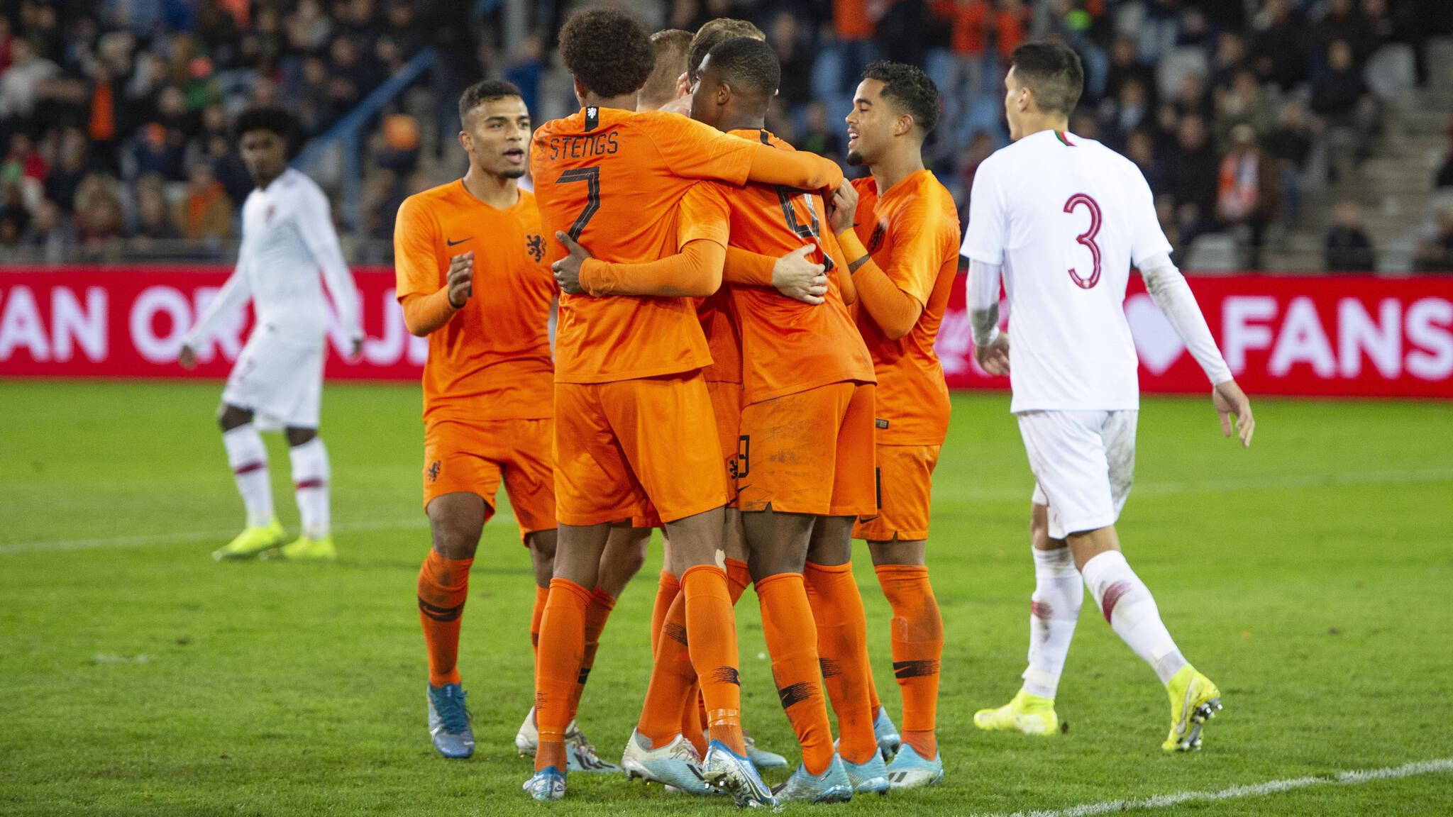 A nova geração de talentos do futebol holandês