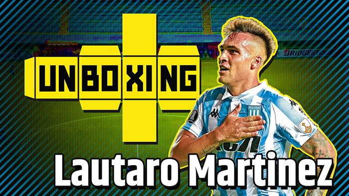 UNBOXING #1 | Lautaro Martínez, El Toro (Racing)