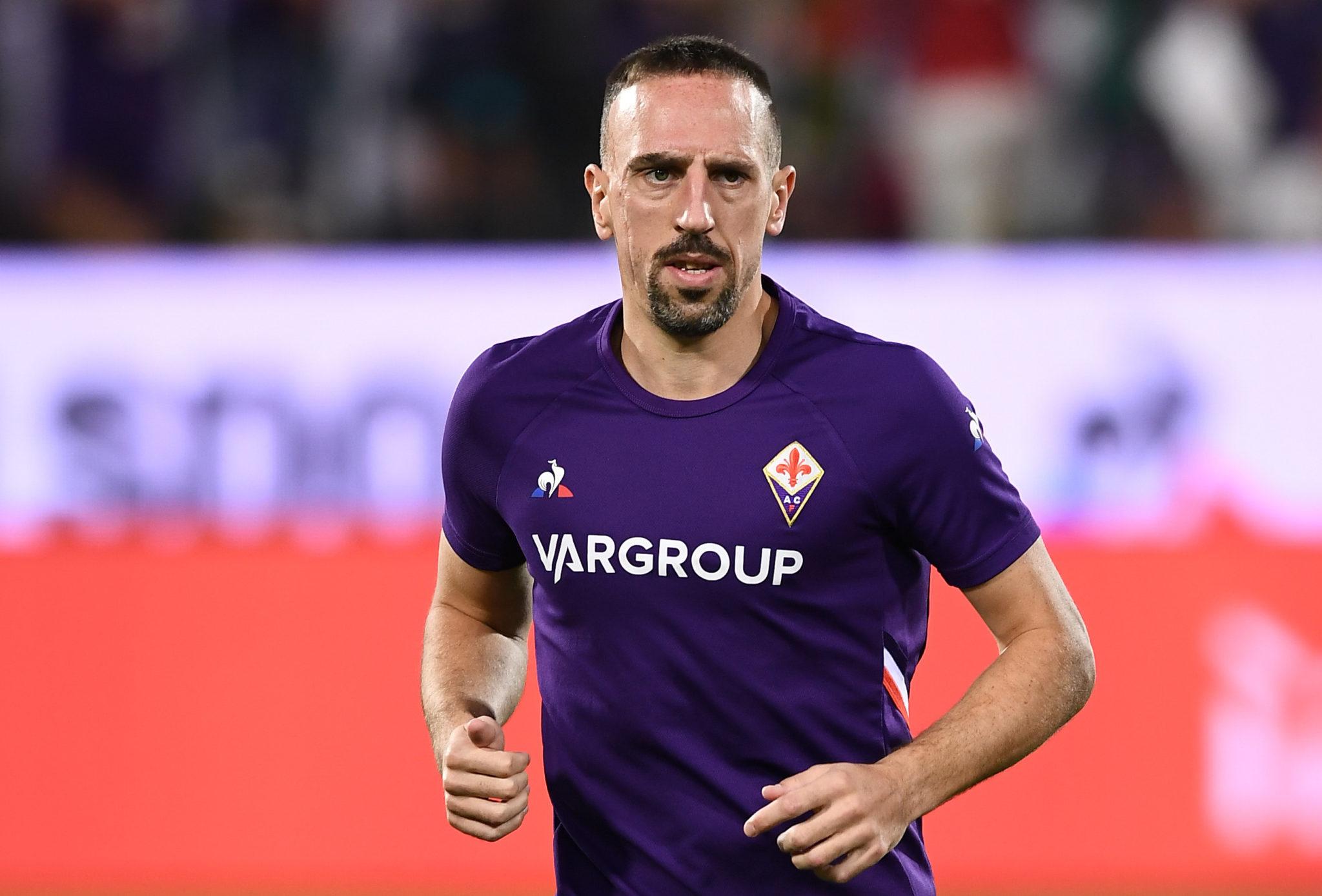 Como Ribéry contribui para a Fiorentina de Montella