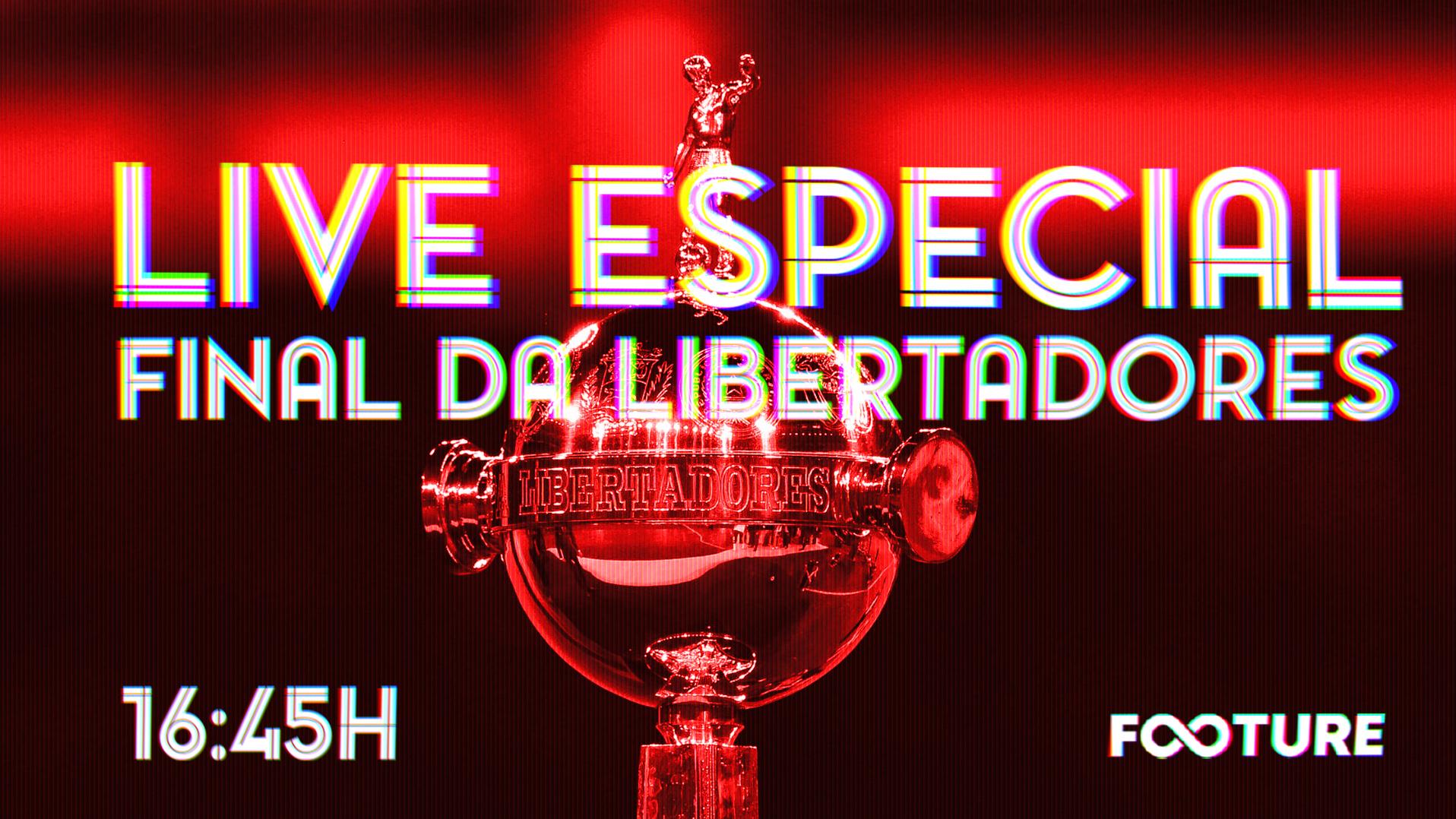 Live Especial – Flamengo 2 x 1 River – Libertadores