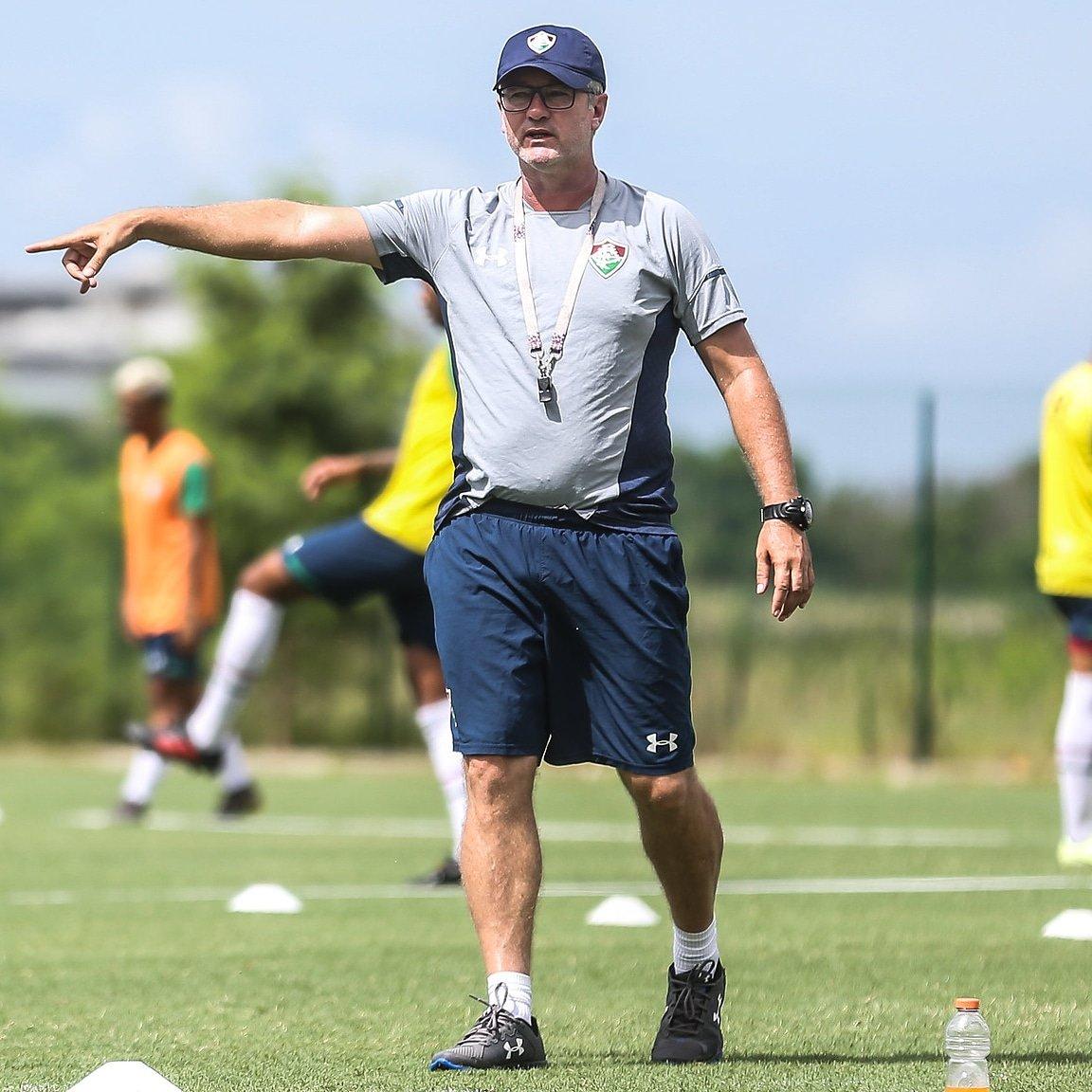 Os desafios de Odair Hellmann no Fluminense