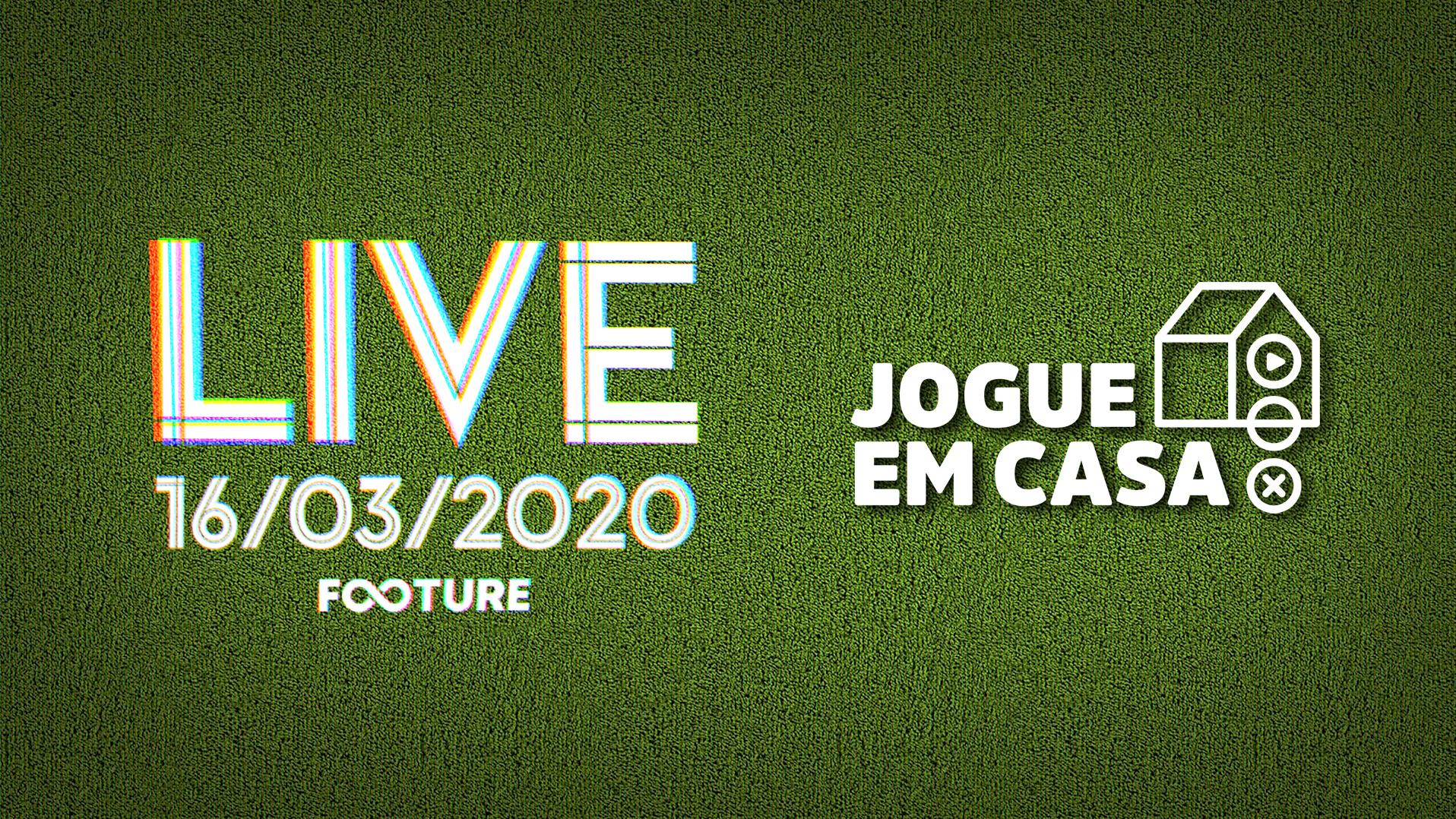 Live Futeboleira #92 | Coronavírus no futebol e a campanha #JogueEmCasa