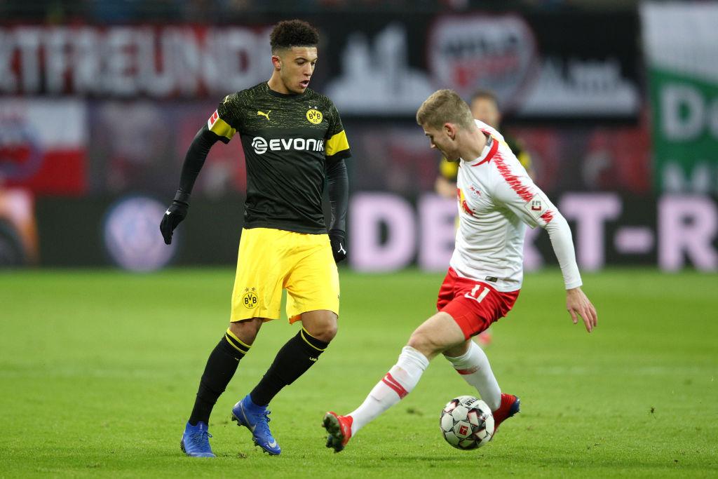 Jadon Sancho e Timo Werner: dois jogadores que podem trocar a Bundesliga pela Premier League