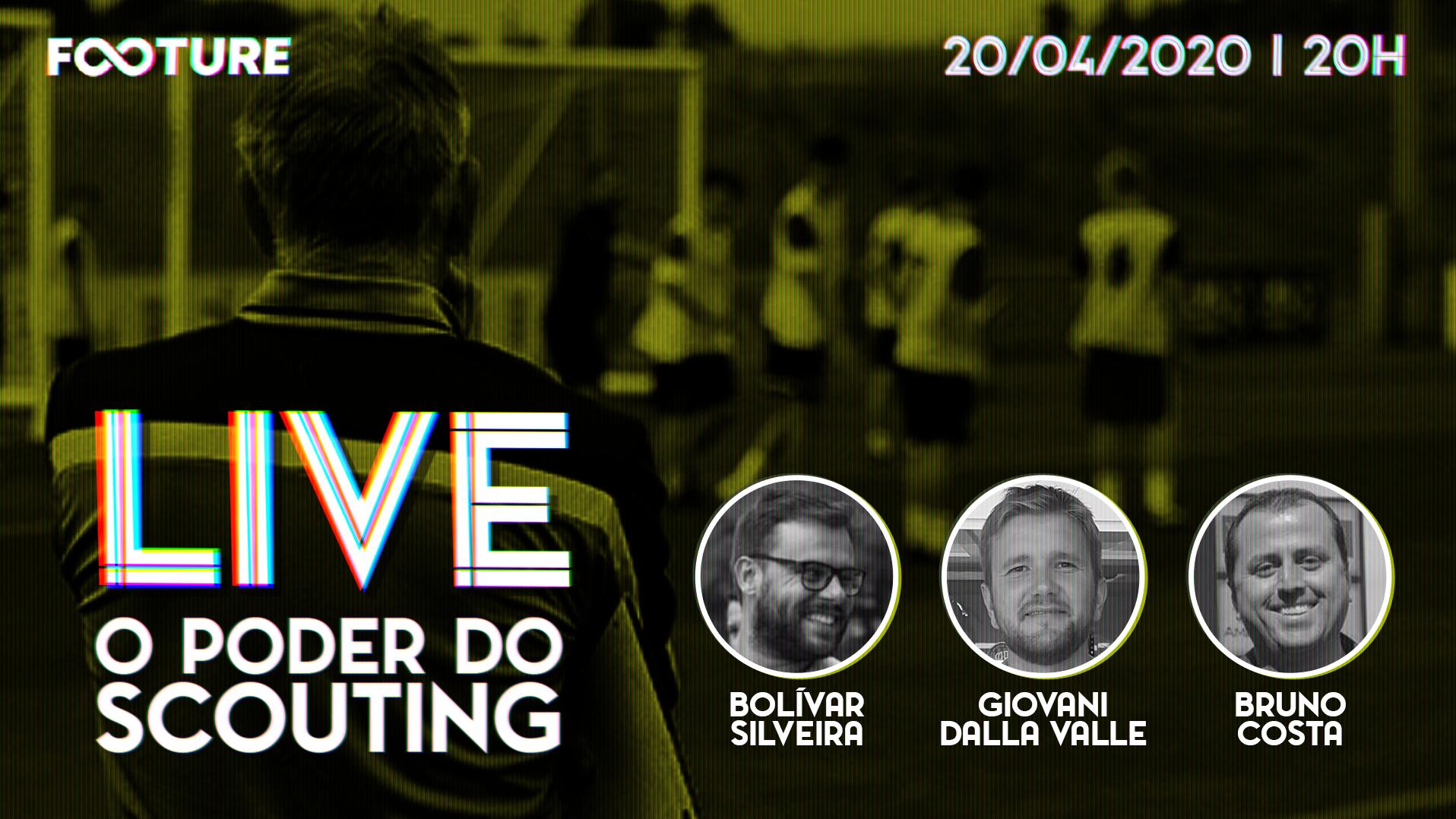 Live Futeboleira #94 | O poder do Scouting no Futebol
