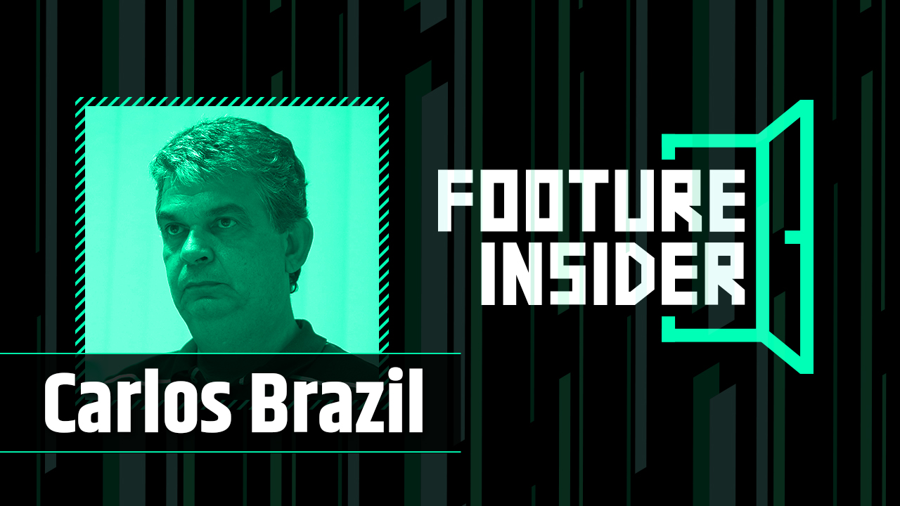 Footure Insider | Carlos Brazil, coordenador da base do Vasco
