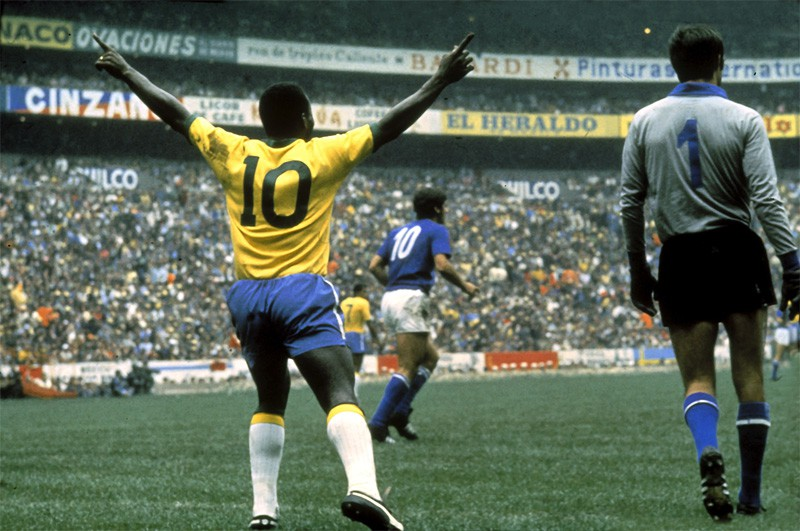 Copa de 1970: os 45 toques de Pelé na final