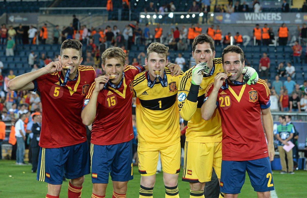 Como estão os jogadores campeões com a Espanha Sub-21 em 2013?