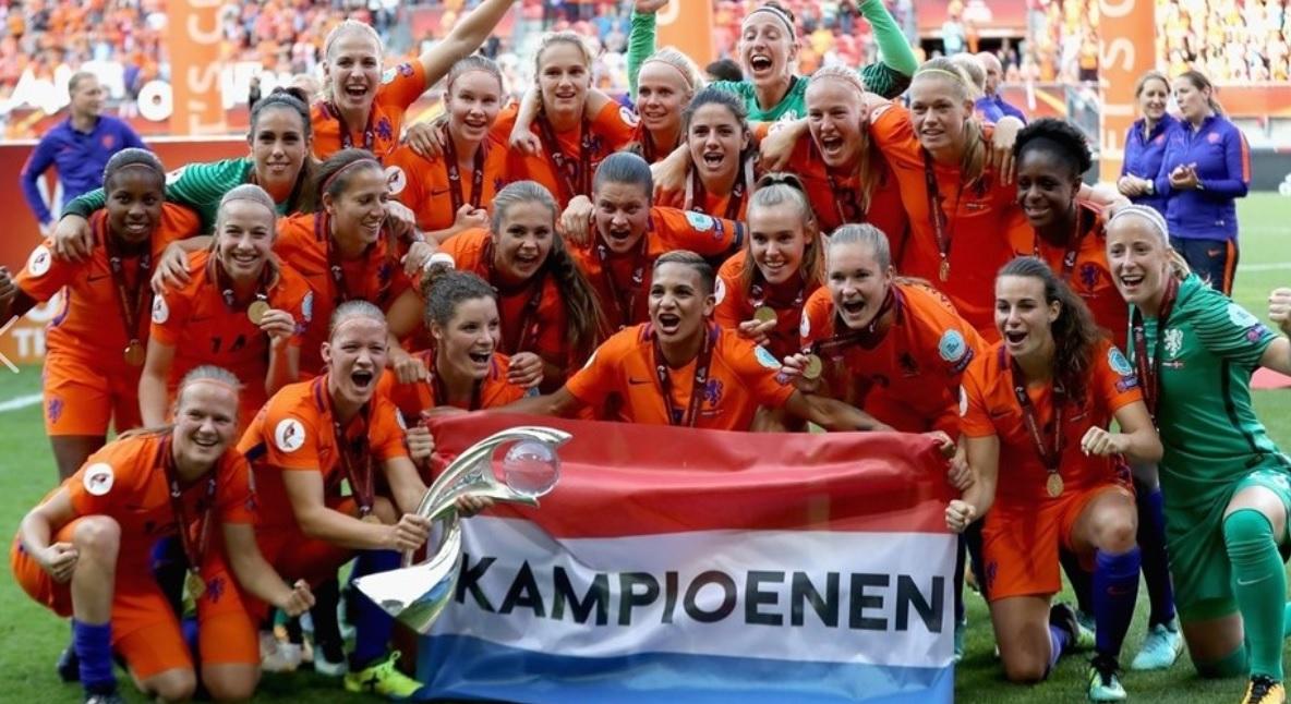 Campeã da Europa e vice campeã mundial: precisamos falar da Holanda