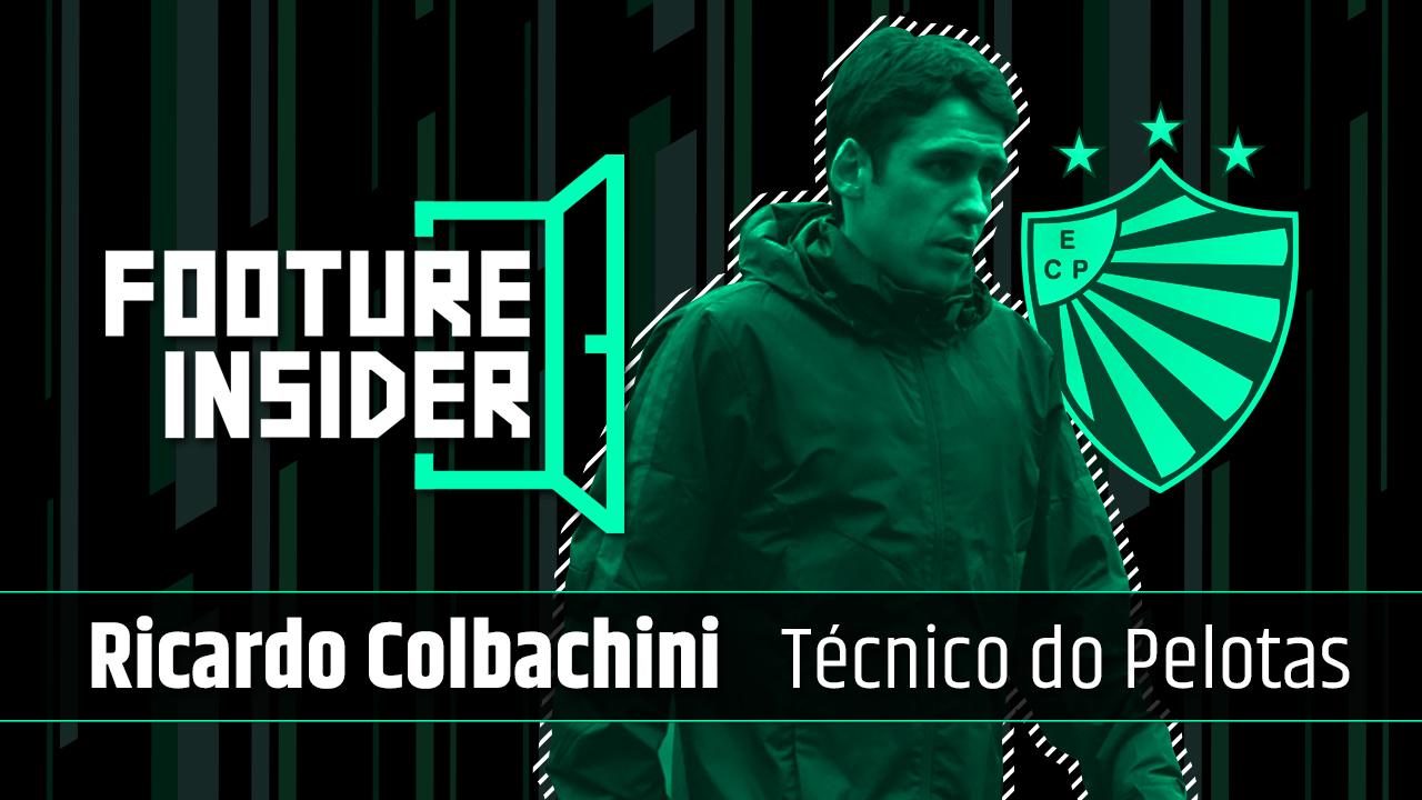 Insider | Ricardo Colbachini, técnico do Pelotas