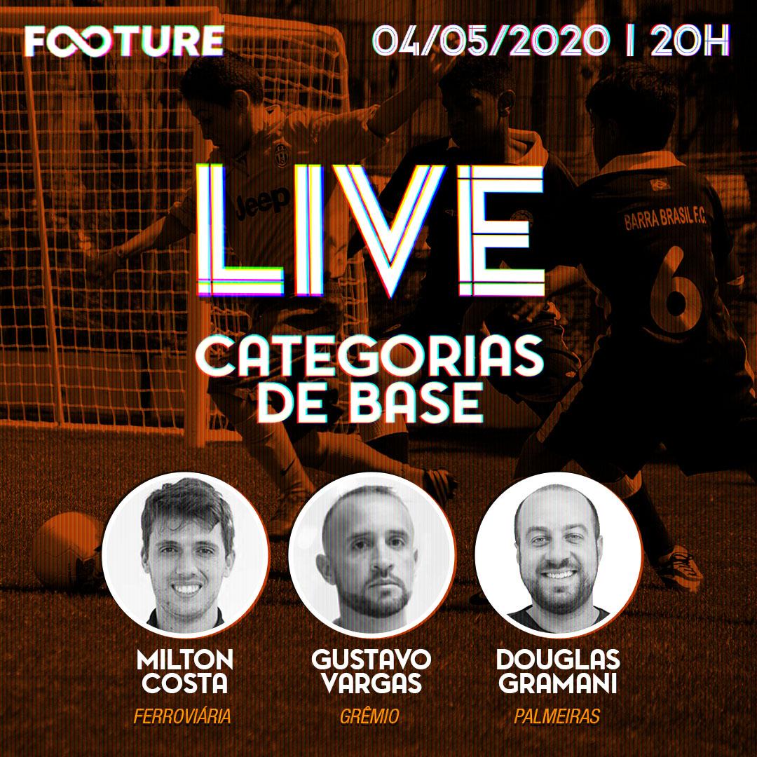 Live Futeboleira #96 | Categorias de Base