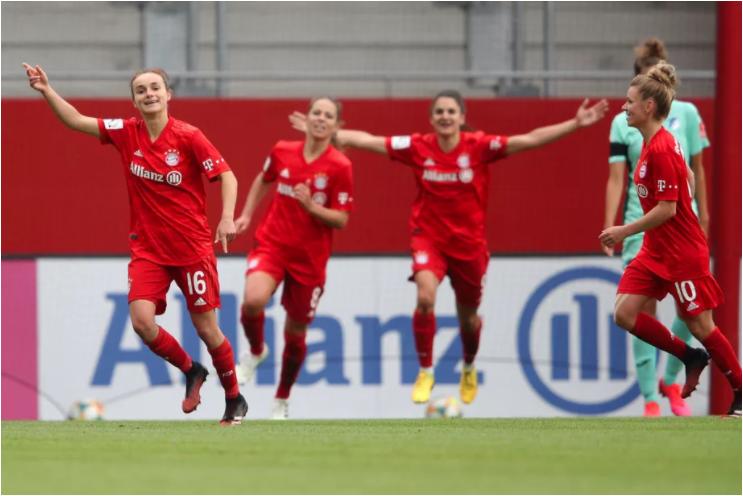 A volta da Frauen-Bundesliga