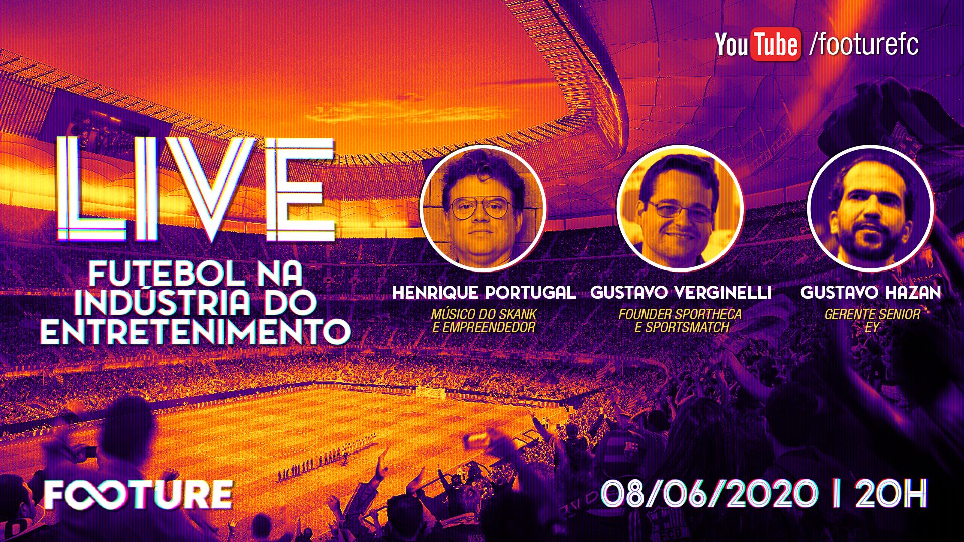 Live Futeboleira #100 | O futebol na indústria do entretenimento