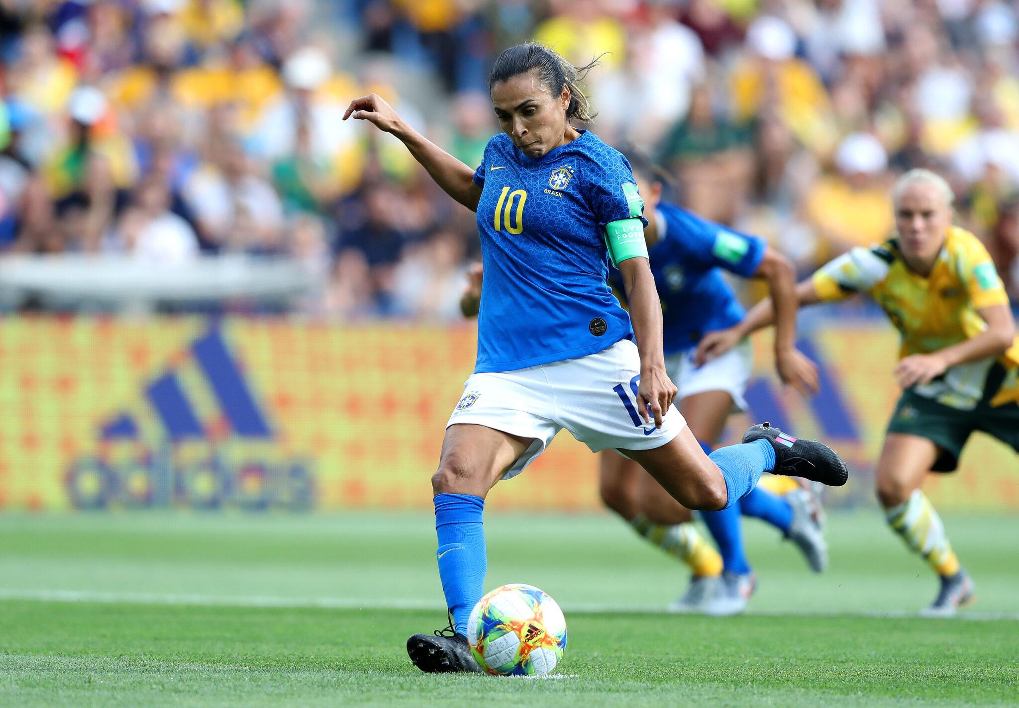 A história dos 17 gols da maior artilheira das Copas do Mundo: Marta
