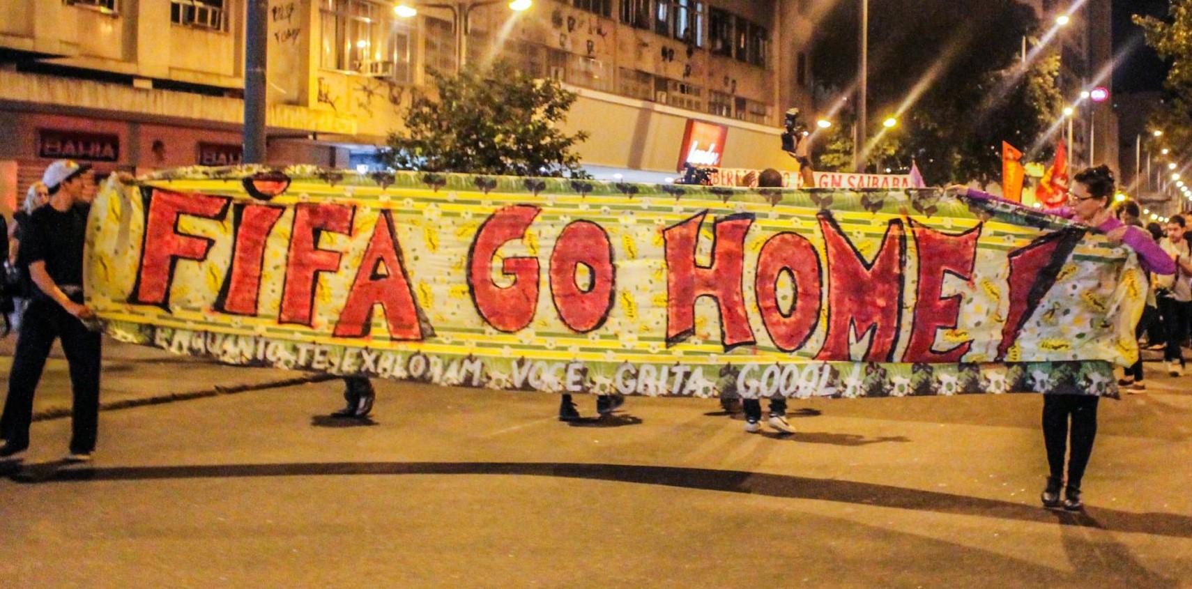Jovens, futebol e manifestações no Rio de Janeiro em 2013 e 2014