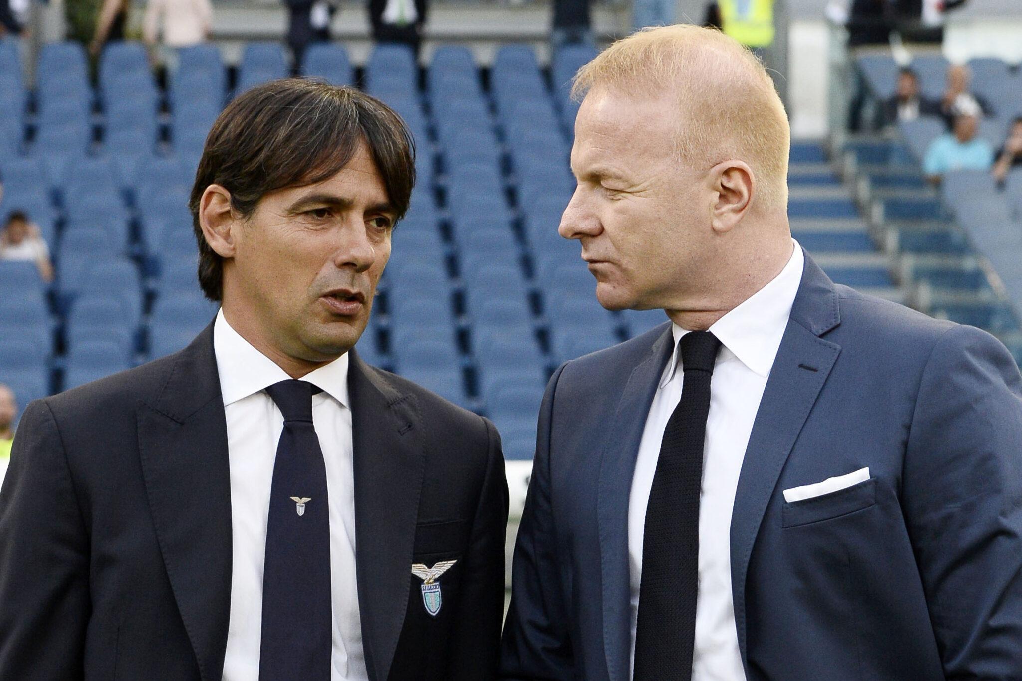Igli Tare e Simone Inzaghi: cérebro e mãos da Lazio