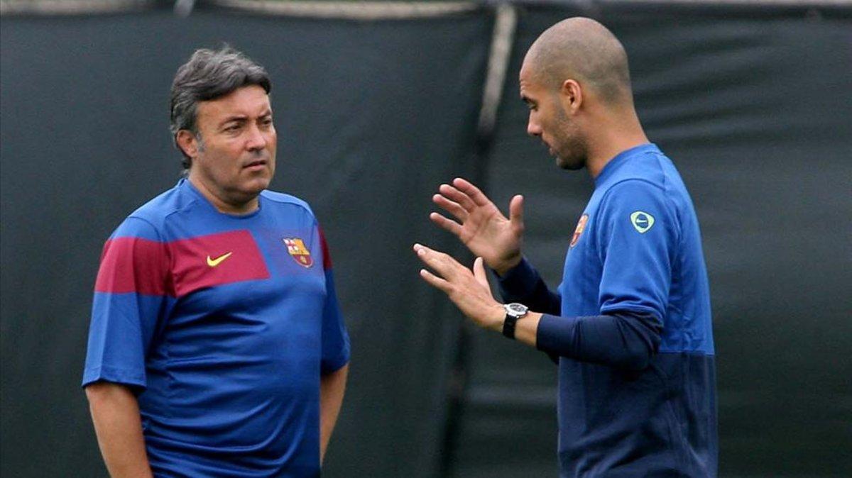 Domènec Torrent Flamengo Pep Guardiola Barcelona