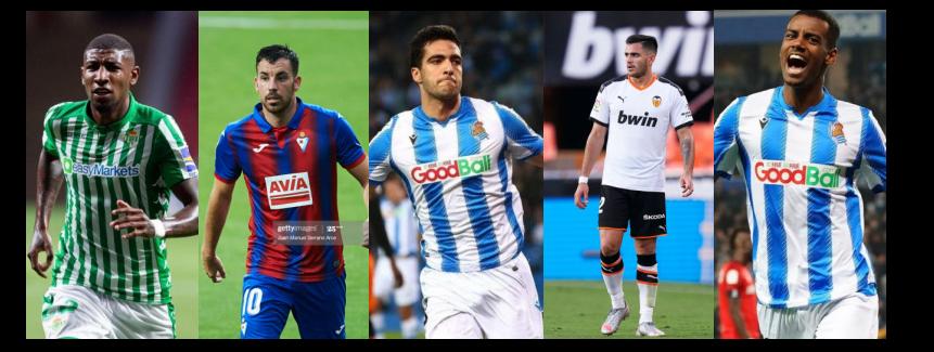 Cinco jogadores para ficar de olho na La Liga 2020/21