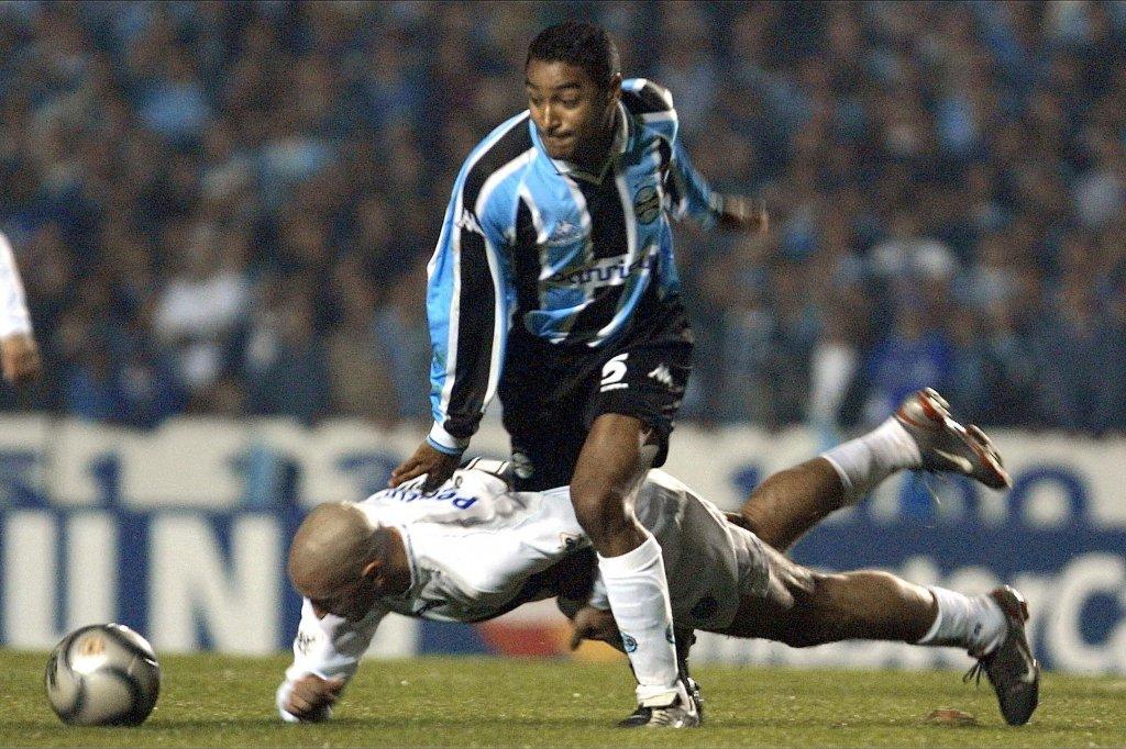 Roger Machado nos tempos de Grêmio