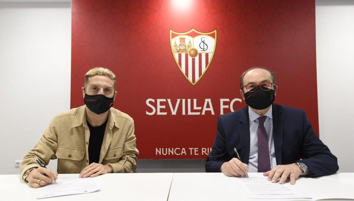 Sevilla baila como el Papu