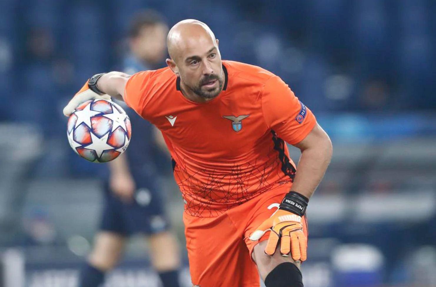 A importância de Reina na saída de bola da Lazio