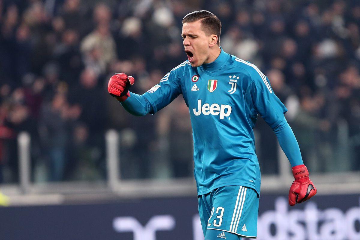Chegou a hora do reconhecimento a Szczesny na Juventus