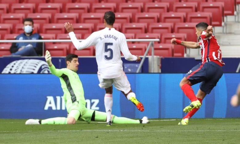 Na briga pelo título, Atleti e Real Madrid empatam com cada uma das equipes dominando por 45 minutos
