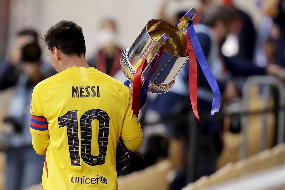 Campeão da Copa do Rei, Barcelona domina o Athletic e busca o doblete