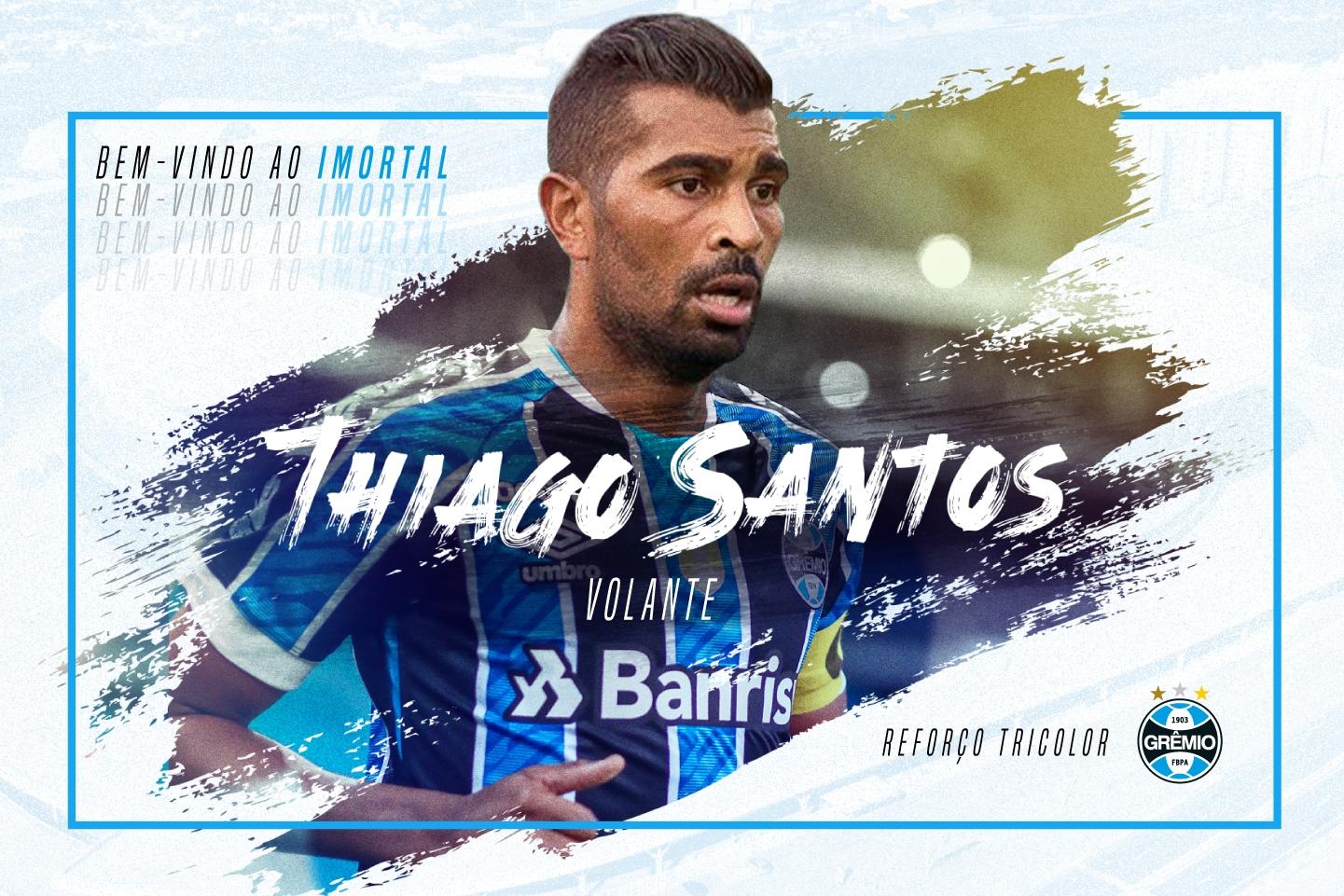 Por que o Grêmio contratou Thiago Santos e como Renato pode escalar o jogador