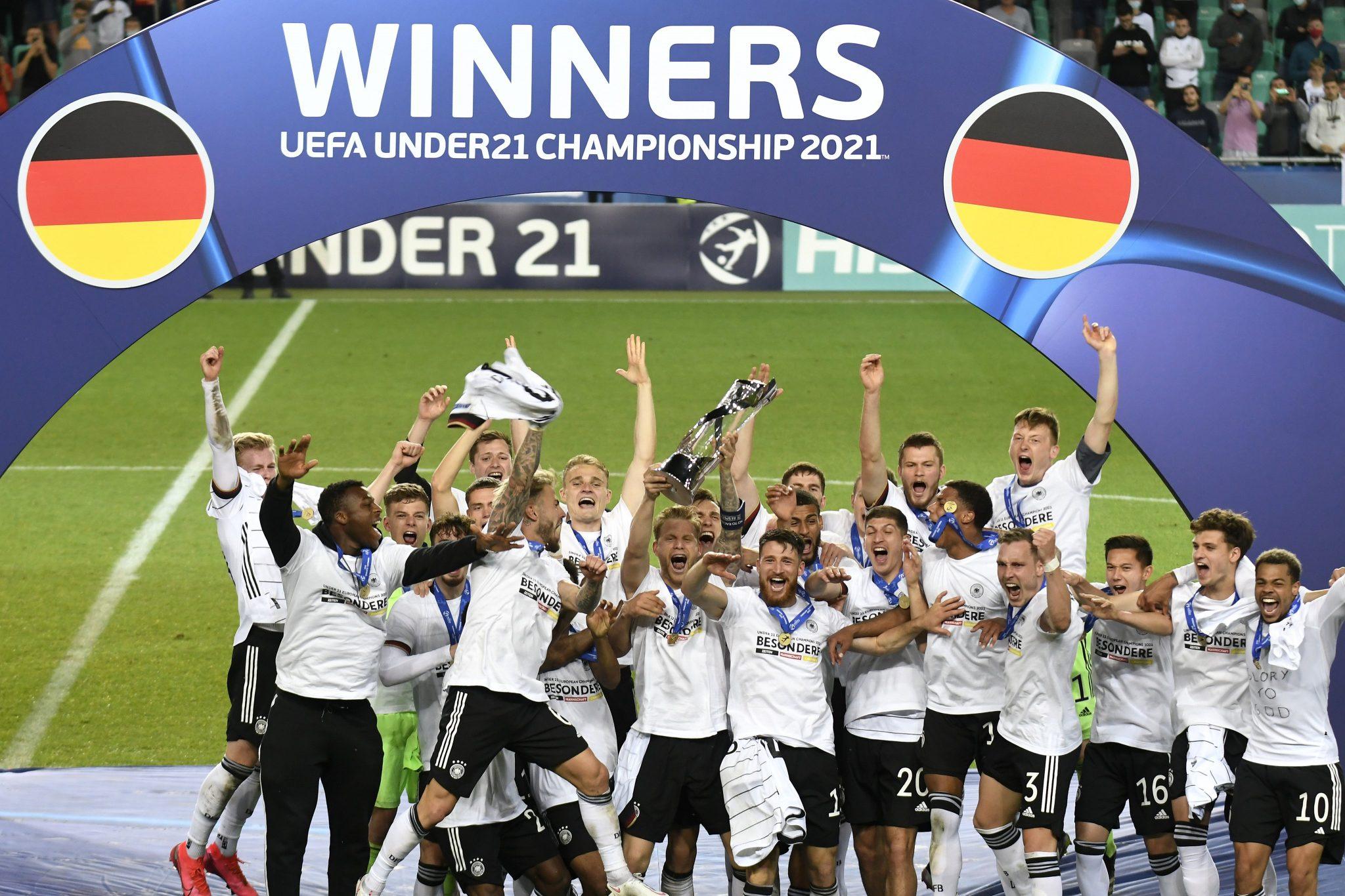 Euro Sub-21: a Alemanha conquista o tri