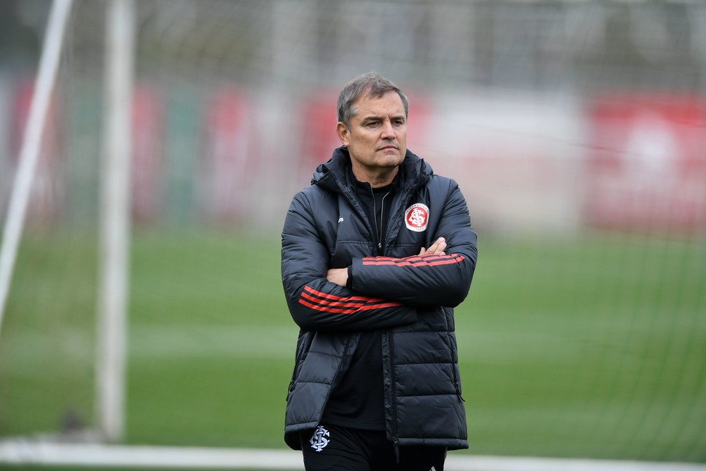 O complicado início de Diego Aguirre no Internacional