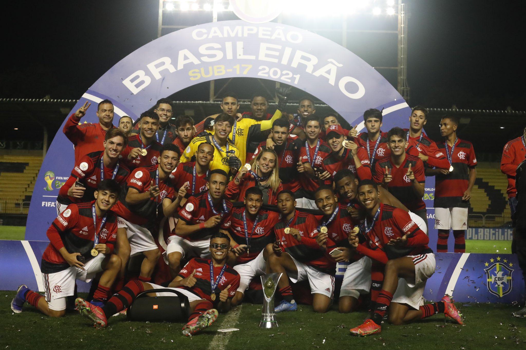 O bi do Flamengo e os destaques do Campeonato Brasileiro Sub-17