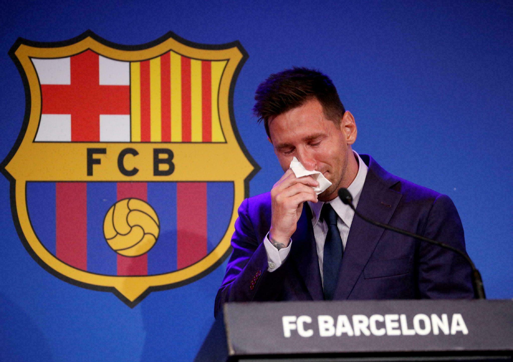 A manhã seguinte: o futuro do Barcelona sem Messi