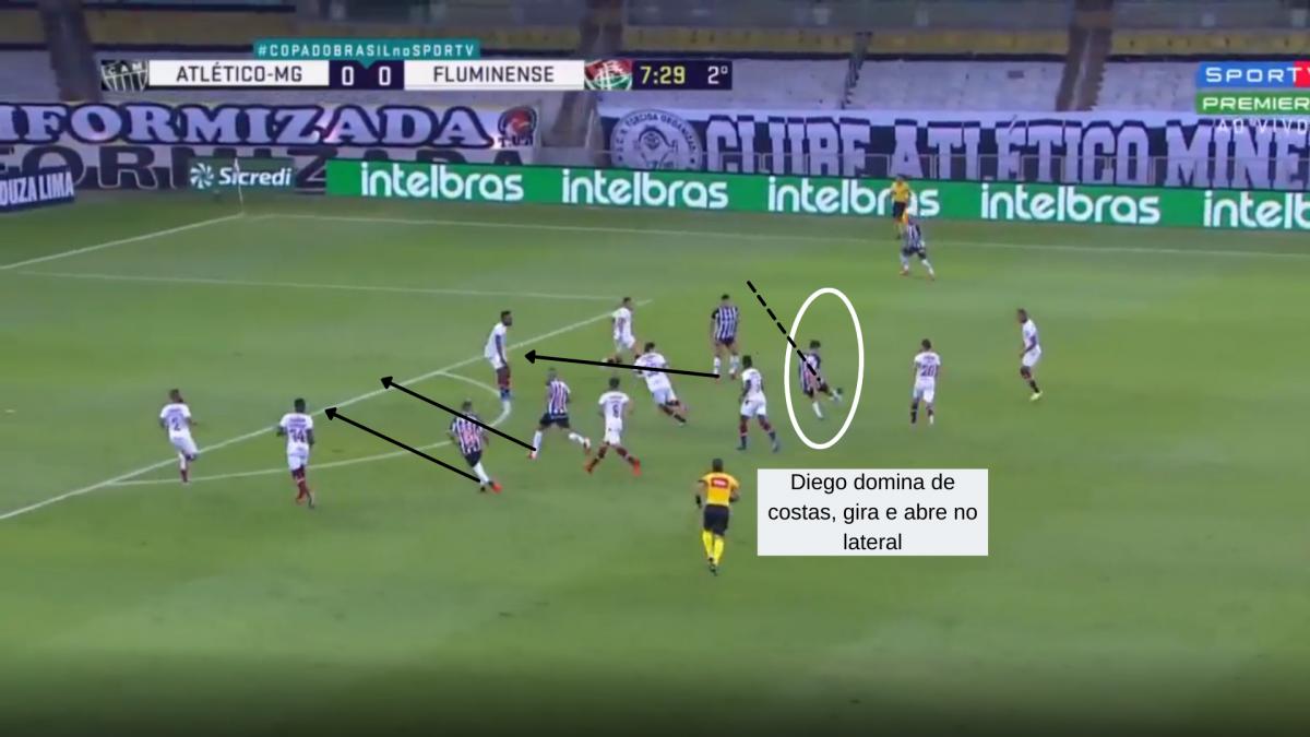 Diego Costa Atlético-MG Brasileirão Footure Libertadores