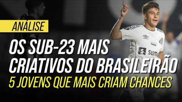 Os jogadores sub-23 com mais key passes do Brasileirão