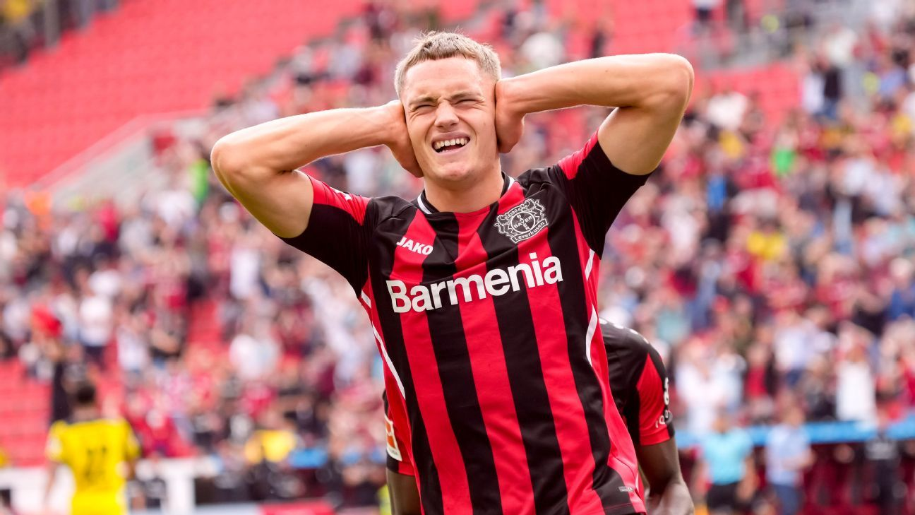 Florian Wirtz: referência técnica do Leverkusen aos 18 anos